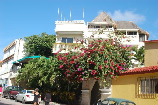 Hotel Labnah: Hotel entrance