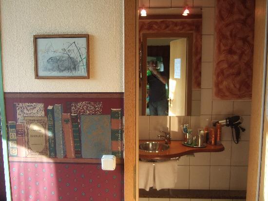 Hotel-Garni Hornburg: il bagno