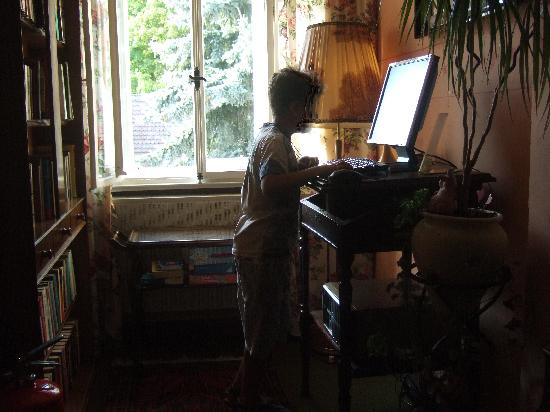 Hotel-Garni Hornburg: il computer a disposizione