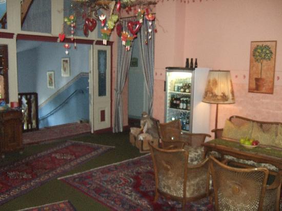 Hotel-Garni Hornburg: un salottino
