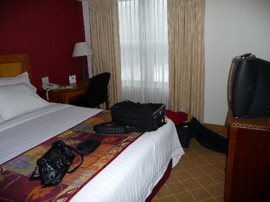 Residence Inn Boston Westford: one of two bedrooms