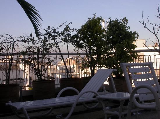 Le Pietri Urban Hotel : terrace garden