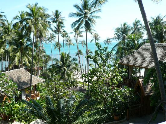 Four Seasons Resort Koh Samui Thailand: view from room 802 to the beach