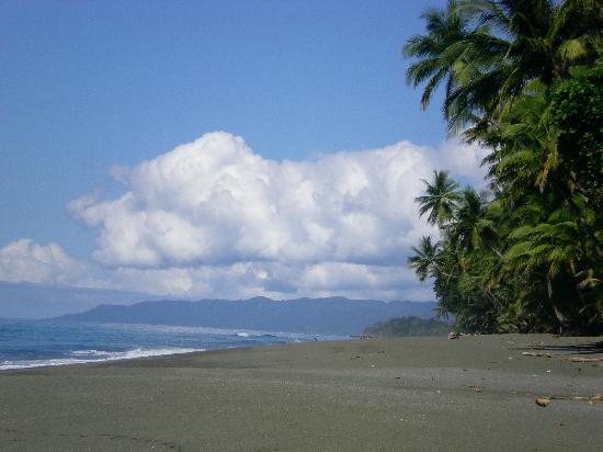 El Remanso Lodge: incredible beach
