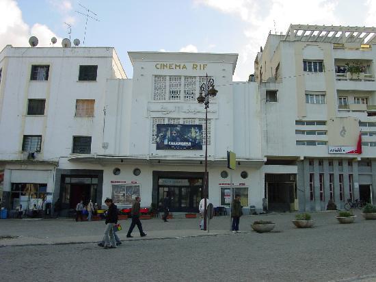 Chellah Hotel Tangier: grand socco