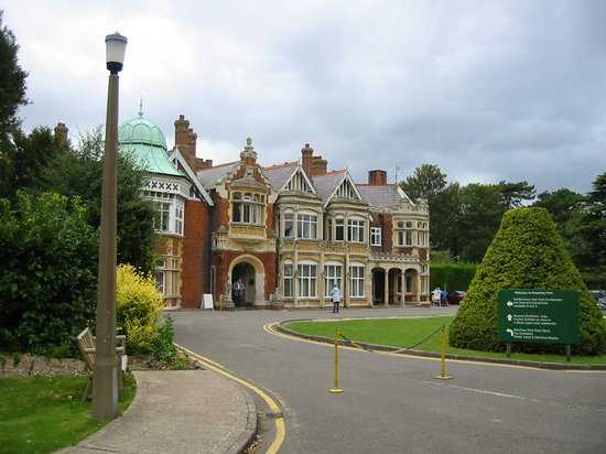 Bletchley Park: Outside of Main Building