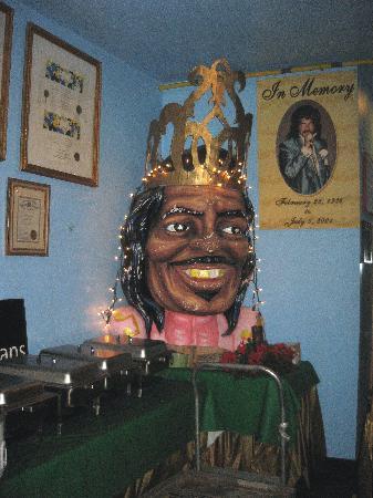 Mother-in-Law Lounge: Mardi Gras head of Ernie K-Doe