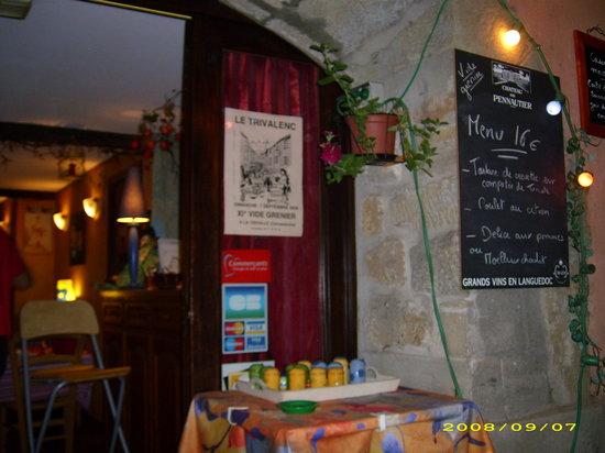 Le Trivalou: the outside