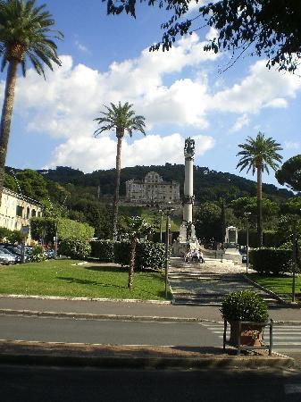 "Grand Hotel Villa Fiorio: The ""villa"" which overlooks Frascati.  (forget what significance it has) lol"