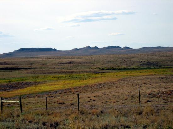 South Dakota: Rangeland South of Black Hills