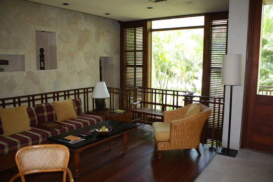 Four Seasons Resort Bali at Sayan: Four Seasons Living Room