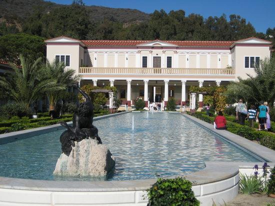 The Getty Villa : The Garden