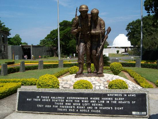 Corregidor Island, Philippines: Memorial to the W W II Soldiers