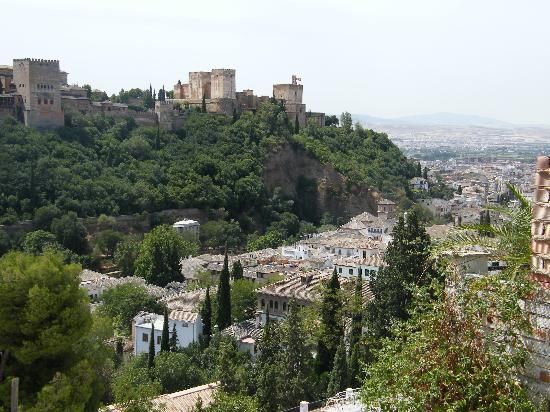 Rambutan: View of the Alhambra from our bedroom