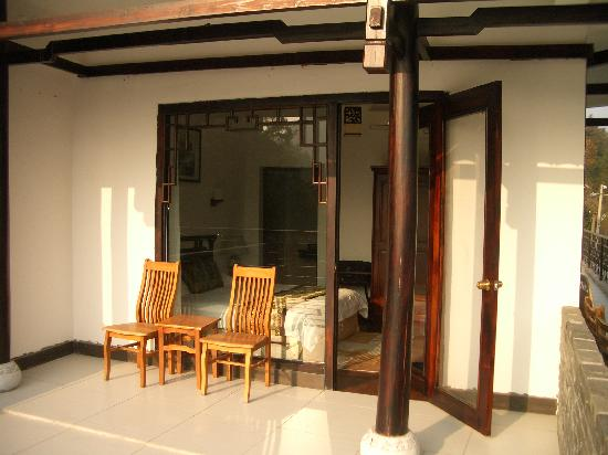 Li River Resort: Photo of our room from our private porch.