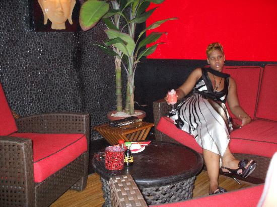 Bamboo Bernies: coté lounge...