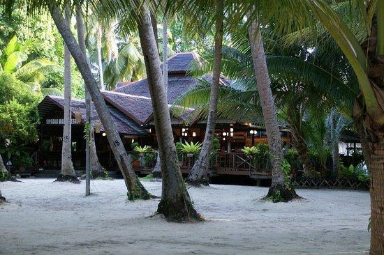 Sipadan Mabul Resort: レストラン