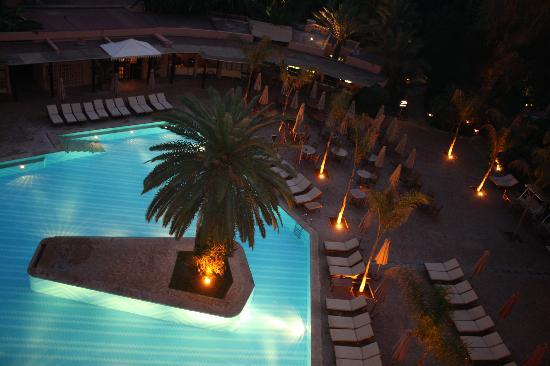 Es Saadi Marrakech Resort - Hotel: Vue de nuit de notre chambre