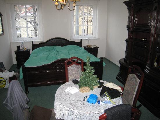 Pension Wegerich: the comfortable bed