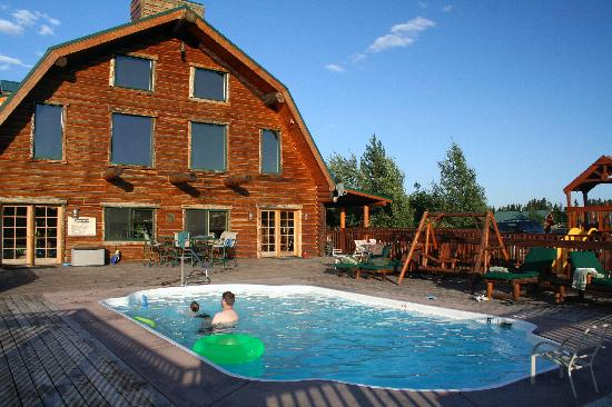Bar-N-Ranch : La piscine.