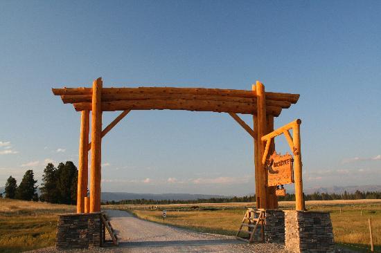Bar-N-Ranch : Le porche typique.
