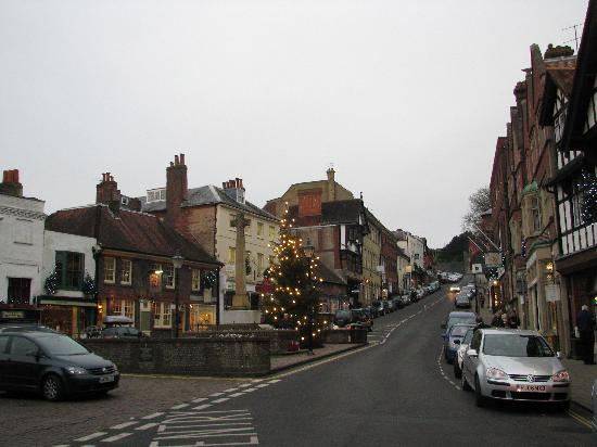 View Down The Street Picture Of The Swan Hotel Arundel