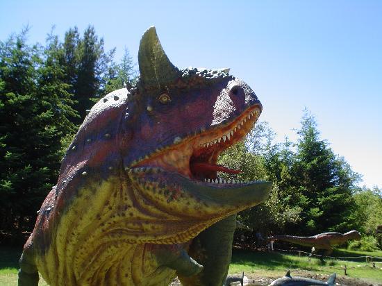 Parque Nahuelito: Carnotaurus (especie originaria de Argentina