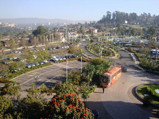 Sheraton Addis, a Luxury Collection Hotel: View from my room at the Sheraton
