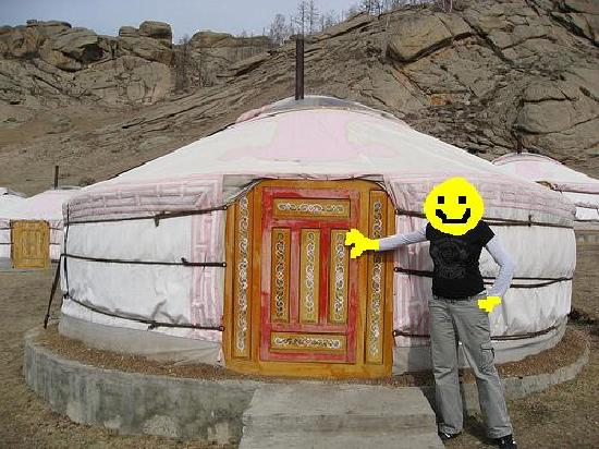 Tiara Resort: ahh yes.. a Ger tent
