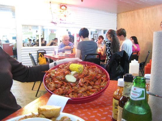 Richard's Seafood Patio : 3lbs Boiled Crawfish - good, but mild