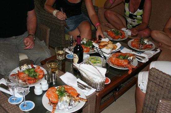 Now Larimar Punta Cana: Souper langouste chambre