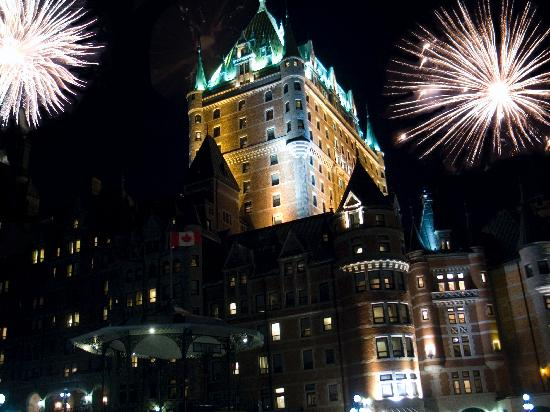 Hotel du Vieux-Quebec : Quebec 400th New Years Eve
