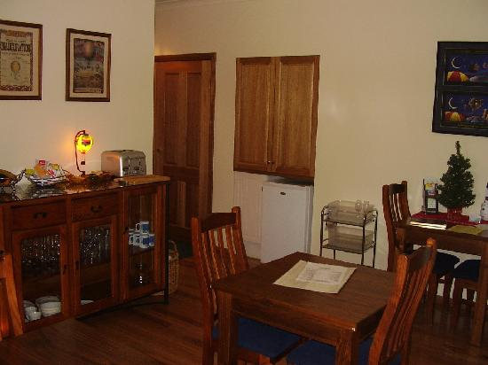 Hunter Valley Bed & Breakfast: COMMON BREAKFAST ROOM