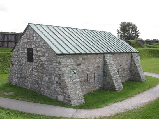 Fort George National Historic Site of Canada: The only authentic building left standing.