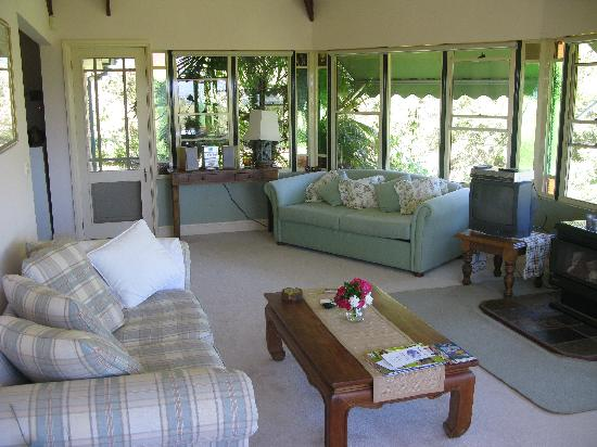 The Lodge - Far Meadow : The living area