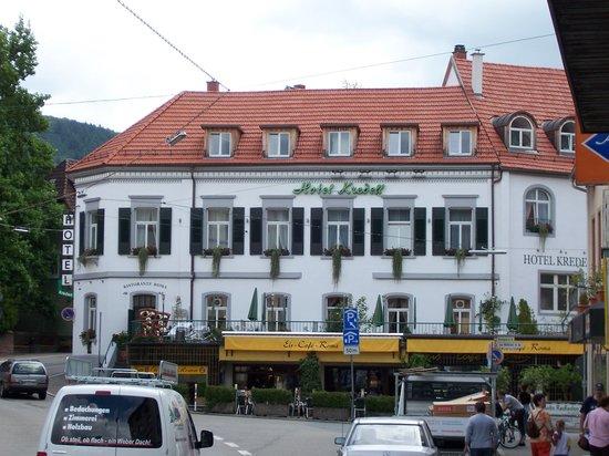 Neckargemund, Tyskland: Hotel Kredel