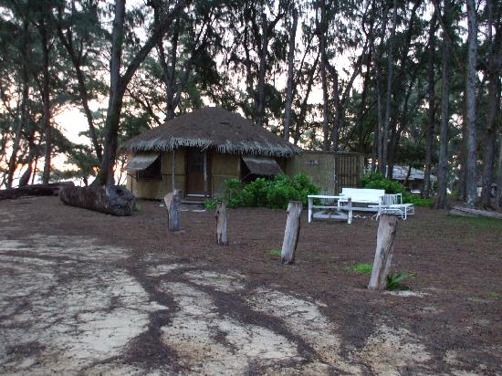 Sunrise picture of malaekahana beach campground laie for Oahu camping cabins