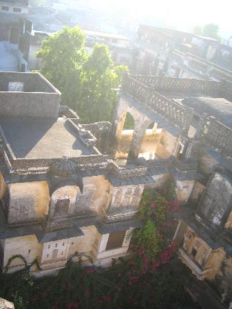 Ghānerao, India: view of the hotel from the rooftop