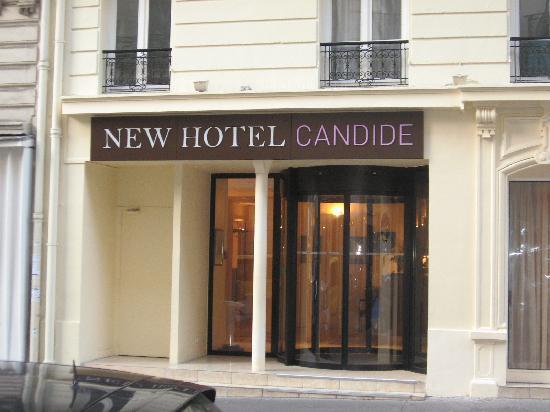 โรงแรมนิวแคนดิเด: L'ingresso