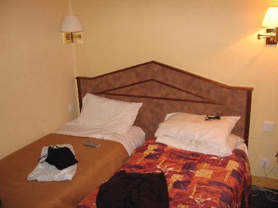 โรงแรมนิวแคนดิเด: Il letto