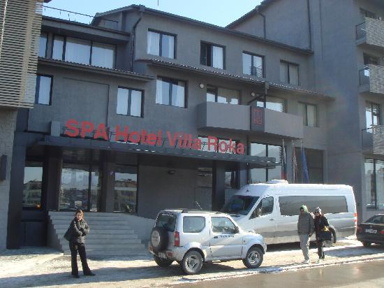 Hotel Villa Roka: Villa Roka Entrance