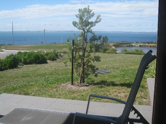 Silverwater Resort: view from front patio