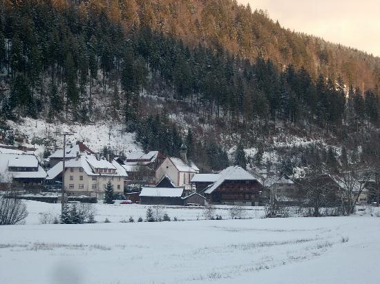 Gästehaus Grünenberg: View of Menzensschwand village
