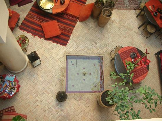 Riad Boussa: Interior