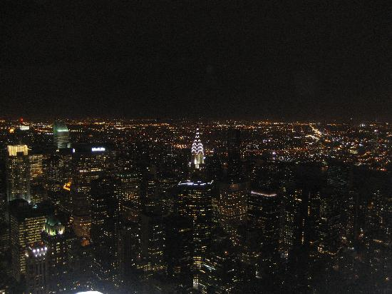 Hotel Stanford: Manhattan, desde el Empire State.