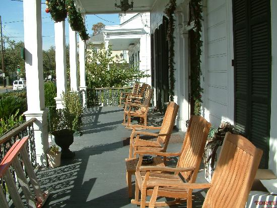 A Place To Unwind On The Veranda Picture Of Ashton S Bed And Breakfast New Orleans Tripadvisor