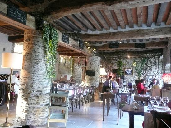 Vue Int Rieur Restaurant Picture Of Hotel Restaurants Du