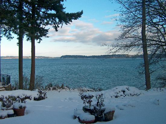 The Inn at Mallard Cove: Puget Sound from the House