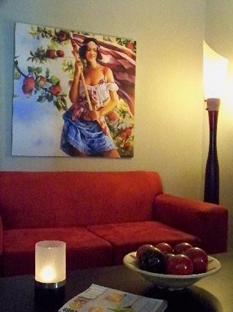 Belmonte Guesthouse : cosy reading corner