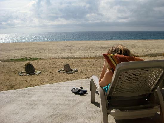 Osprey San Pedrito : private patio